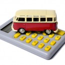 © Dmitrimaruta | Dreamstime.com - Miniature Minivan On A Calculator Photo
