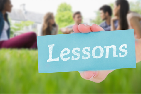 © Wavebreakmediamicro   Dreamstime.com - Lessons Against Happy Students Sitting Outside On Campus Photo