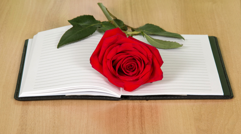 © Laboko | Dreamstime.com - Book With A Red Rose Photo
