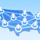 © Andrew7726 | Dreamstime.com - Social Network In USA Concept 3D Photo