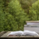 © Jessicahyde | Dreamstime.com - Books On A Wooden Table Photo