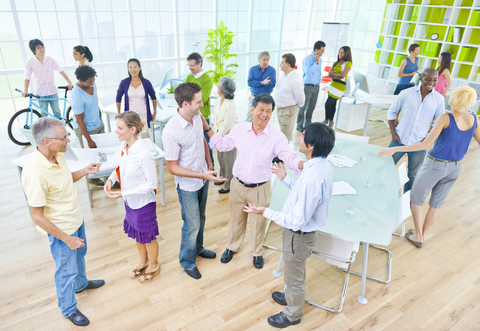 © Rawpixelimages | Dreamstime.com - Group Of Business People In The Office Photo