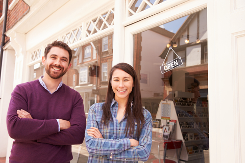 © Monkeybusinessimages | Dreamstime.com - Couple Standing In Front Of A Shop Window Photo