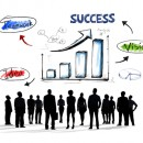 © Rawpixelimages | Dreamstime.com - Silhouettes Of Business People With Growth Concepts Photo