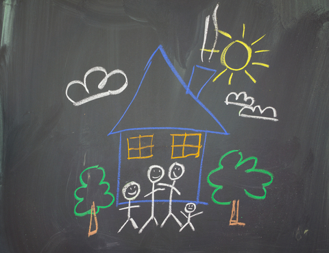 © Duncanandison | Dreamstime.com - A Childs Drawing Photo