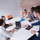 © .shock   Dreamstime.com - Business People Group At Office Photo
