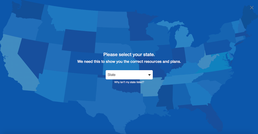 Map-United Healthcare Online
