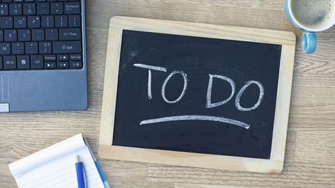© Bartpeereboom | Dreamstime.com - To Do Written Photo