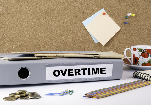 "© Tumsasedgars | Dreamstime.com - <a href=""https://www.dreamstime.com/stock-photo-overtime-folder-white-office-desk-image78107181#res2965056"">Overtime - Folder On White Office Desk Photo</a>"