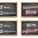 © Unkreatives | Dreamstime.com - Blackboard Hire Outsource Photo