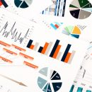© Lianna2013 | Dreamstime.com - Colorful Graphs, Charts, Marketing Research And Business Annual Report Background, Management Project, Budget Planning, Financial Photo