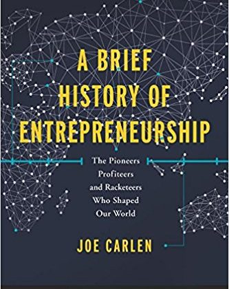 Book Cover - A Brief History of Entrepreneurship