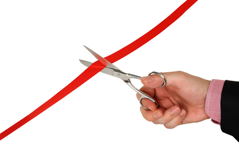 Cutting Red Ribbon - Gearing Up to Open Your Doors