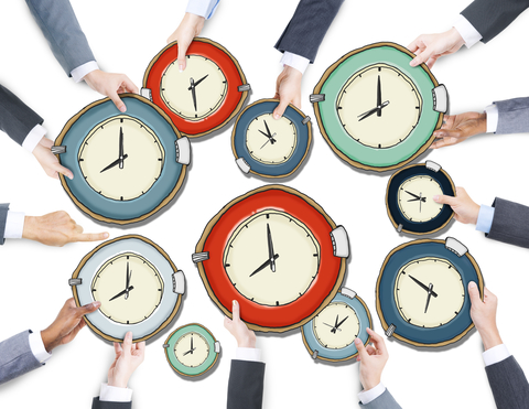 Clocks; 5 Ways Not to Waste Time and Effortsmall Businesses