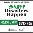 Disasters Happen, Prepare Now