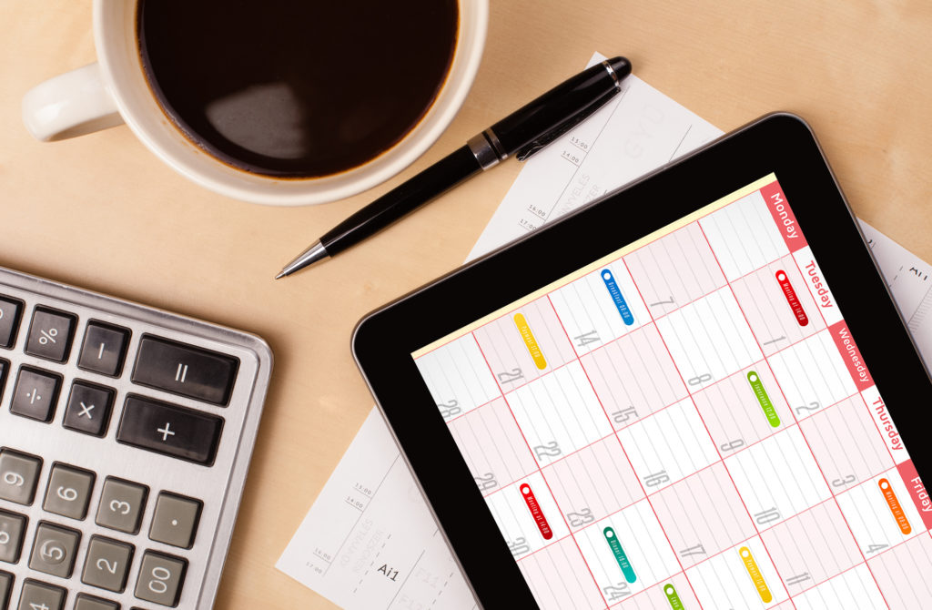 Business Dates to Plan For
