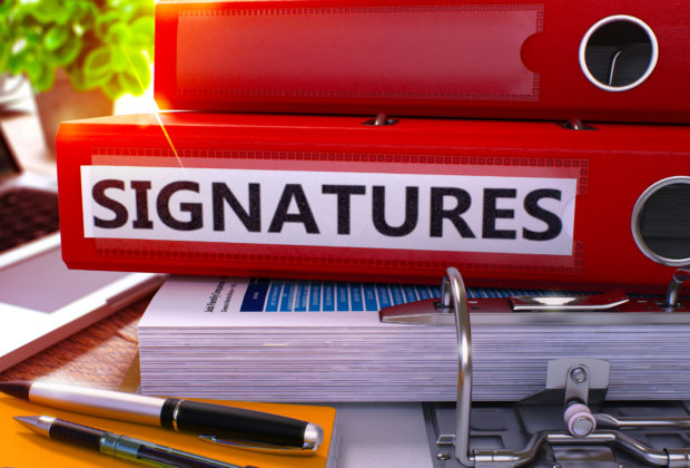 Electronic Signatures on Your Forms and Documents