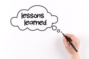 Lessons Learned from Failure