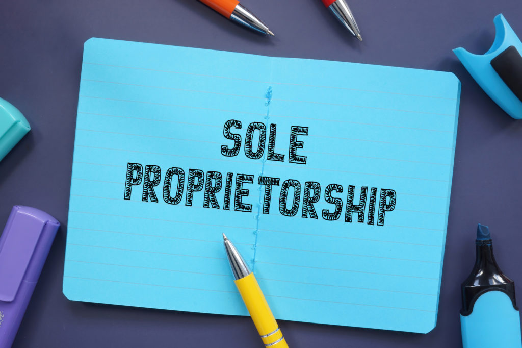 Sole Proprietorship: The Numbers Are Up