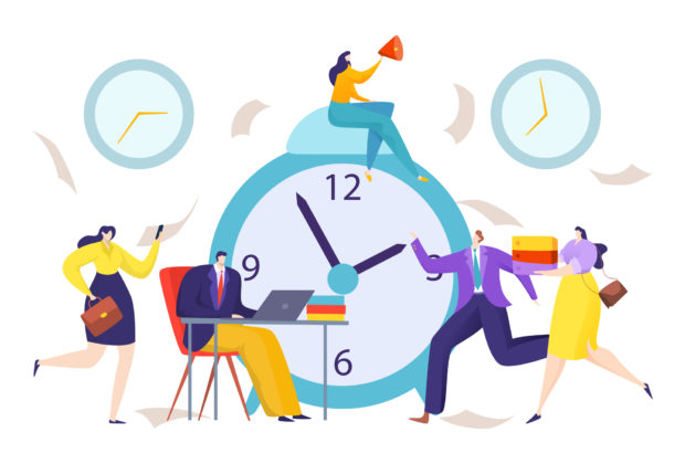 Employees Clocking In New Realities