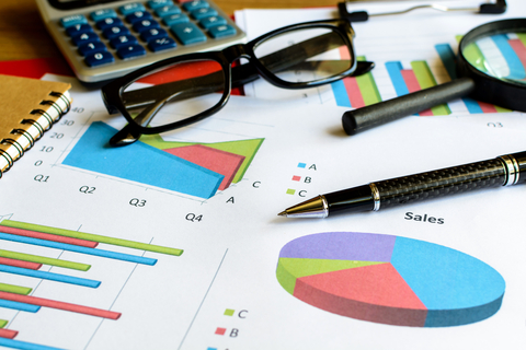 © Kitzcorner   Dreamstime.com - Desk Office Business Financial Accounting Calculate, Graph Analy Photo